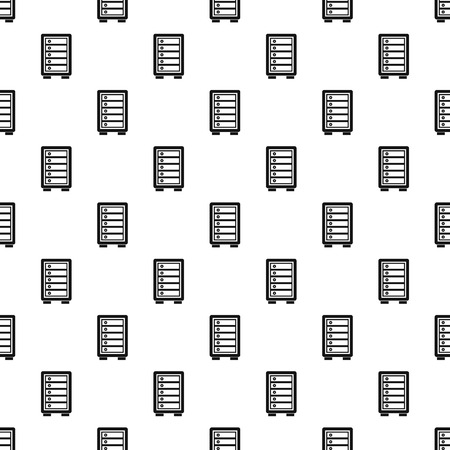 Security safe locker pattern. Simple illustration of security safe locker vector pattern for web