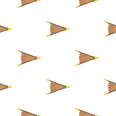 Fire bellows pattern flat