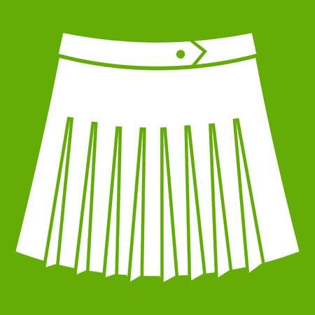 Illustration pour Tennis female skirt icon. - image libre de droit