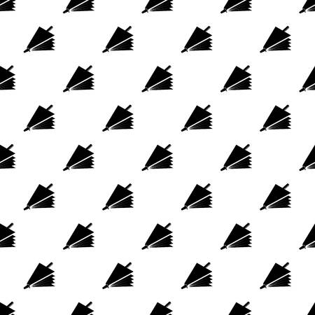 Fire bellows pattern vector seamless repeating for any web design