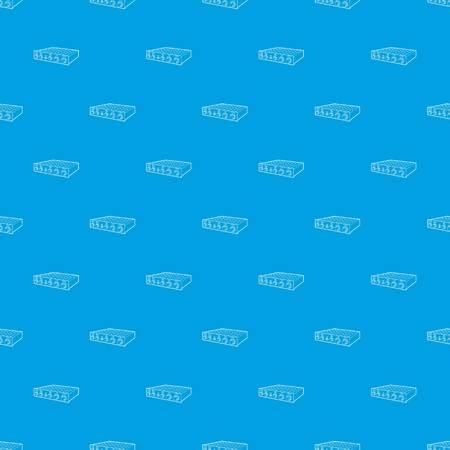 Amplifier pattern vector seamless blue