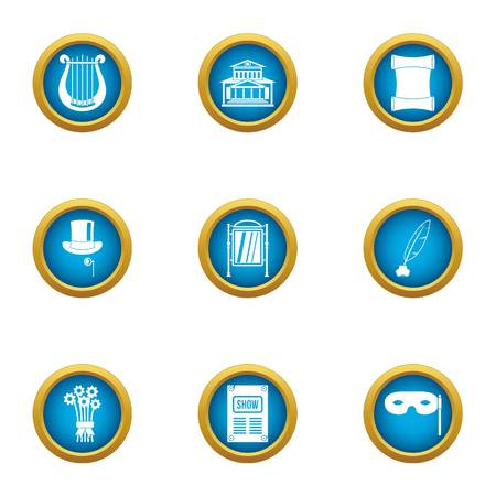 Agreement icons set. Flat set of 9 agreement vector icons for web isolated on white background