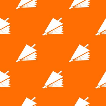 Fire bellows pattern vector orange for any web design best