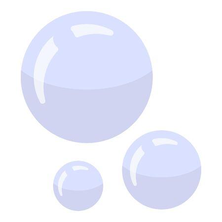 Photo pour Shaving bubbles icon. Isometric of shaving bubbles vector icon for web design isolated on white background - image libre de droit
