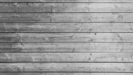 Foto de White or gray wood wall texture with natural patterns background. Grey wooden table top backdrop. - Imagen libre de derechos