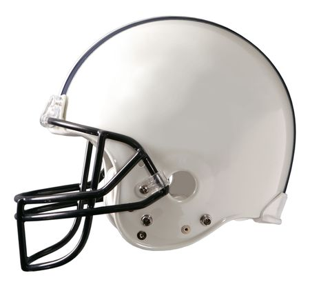 Photo for A generic white football helmet - Royalty Free Image