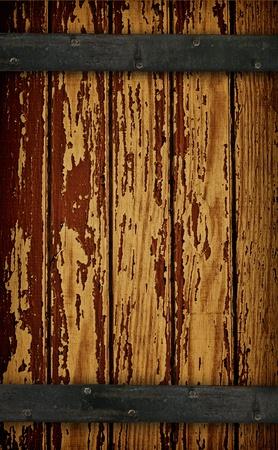 Dark Wood Barn Door