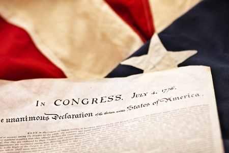 The Declaration of Independence (Selective Focus)