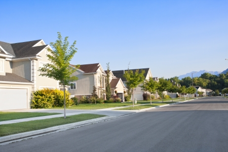 Foto de Clean, Idyllic, Peaceful Neighborhood - Imagen libre de derechos