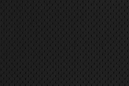 Photo for Black Mesh Sports Jersey texture  - Royalty Free Image