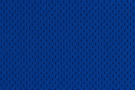 Photo for Blue Sports Jersey texture  - Royalty Free Image