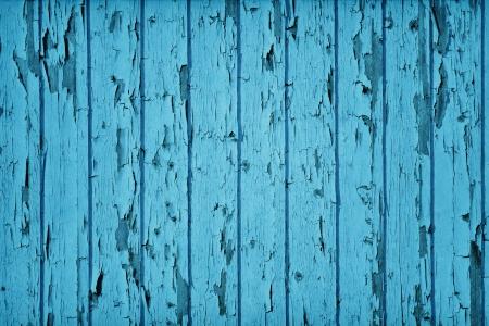 Vintage Style Wood Teal Blue color