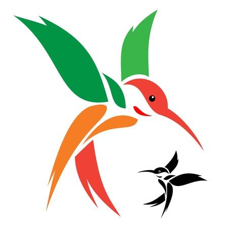 Illustration pour Hummingbird - image libre de droit