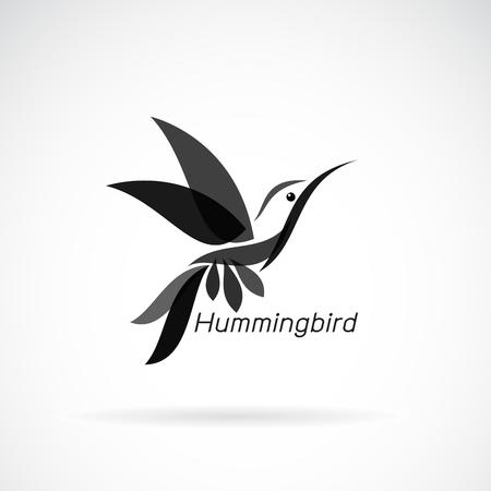 Ilustración de hummingbird design on white background, Wild Animals. - Imagen libre de derechos