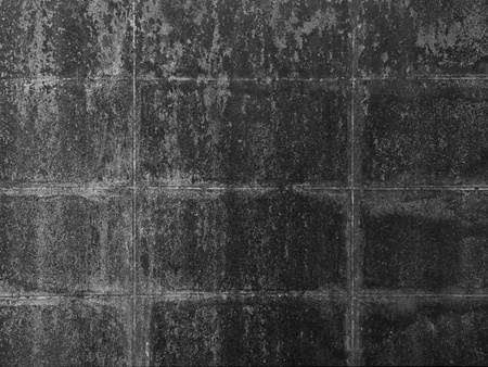 Durty concrete wall black and white