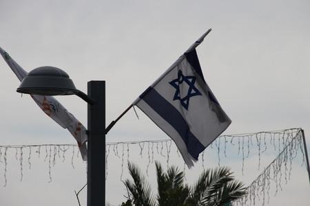 Israeli Flag in Acre