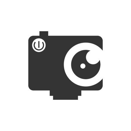 Illustration for camera vector design template illustration - Royalty Free Image