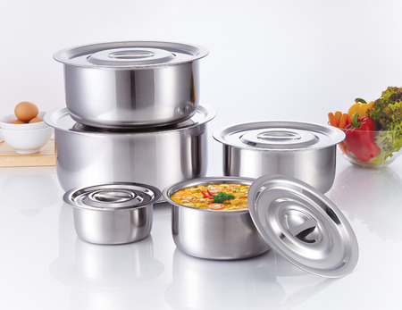 Cooking Pot made of stainless steel, kitchenware