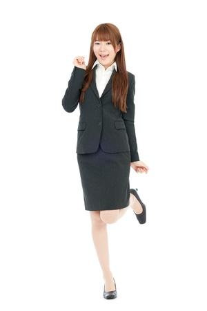 Beautiful business woman  Portrait of asian の写真素材