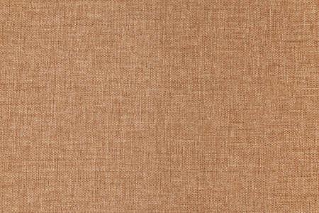 Photo pour Texture canvas fabric as background light brown. Small texture. Rough linen material - image libre de droit