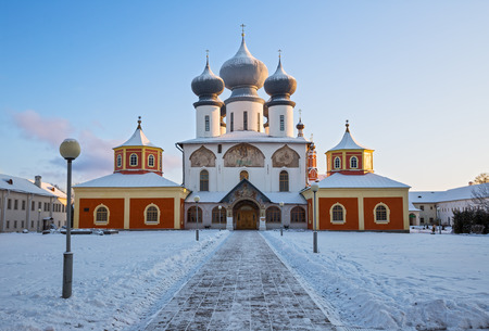 Assumption Cathedral of Tikhvin Assumption Monastery, Russia