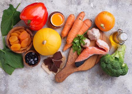 Photo pour Healthy food good for vision - image libre de droit