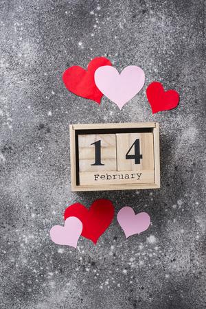 Photo pour Valentines Day background with  hearts - image libre de droit