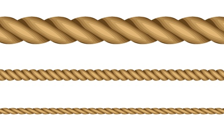 illustration of ropes