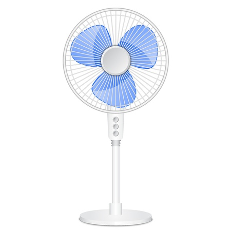 illustration of electric fan