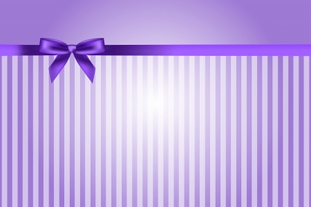 purple background with bow