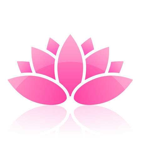 Illustration pour lotus icon - image libre de droit