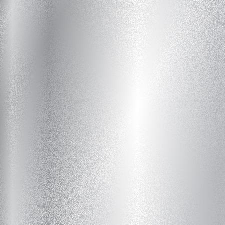 Vector silver metal texture