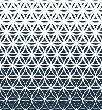 Photo pour Gradient geometric seamless pattern. - image libre de droit