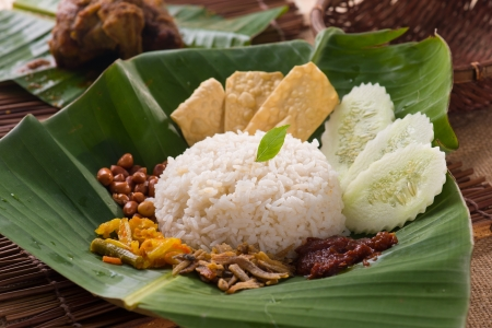 nasi lemak traditional malay food