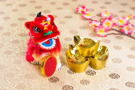 Photo pour chinese new year decorations - image libre de droit
