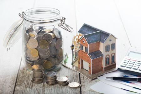 Photo pour home loan concept photo - image libre de droit