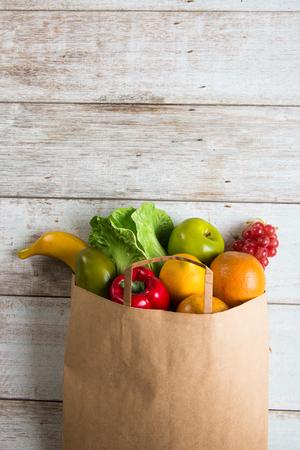 Photo pour grocery shopping concept photo - image libre de droit