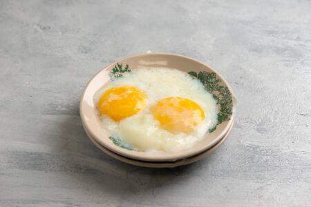 Foto de Hainam Style Half Boiled Egg - Imagen libre de derechos