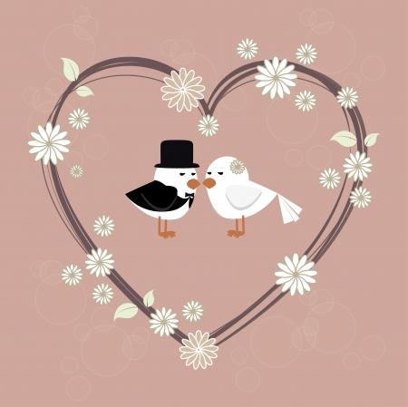 Photo pour love design over pink background vector illustration   - image libre de droit