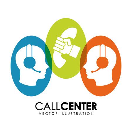 call center design illustration