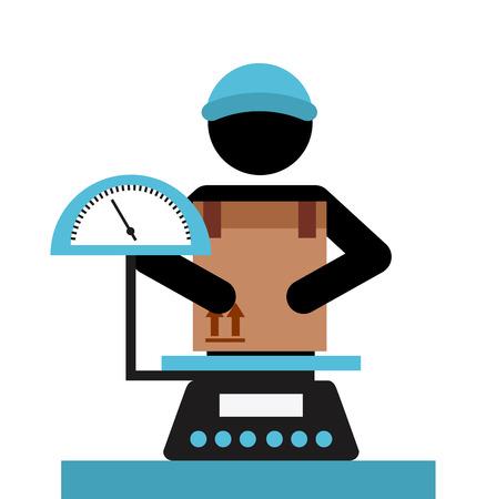 Illustration pour delivery service design, vector illustration graphic - image libre de droit