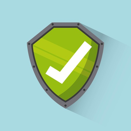 cyber security design, vector illustration graphic