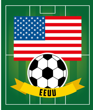 football soccer sport design, vector illustration eps10 graphic