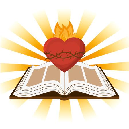 Illustration pour holy bible design, vector illustration eps10 graphic - image libre de droit