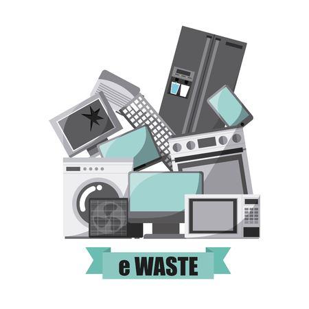 waste concept design, vector illustration eps10 graphic