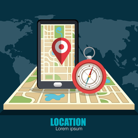 location icon design, vector illustration eps10 graphic