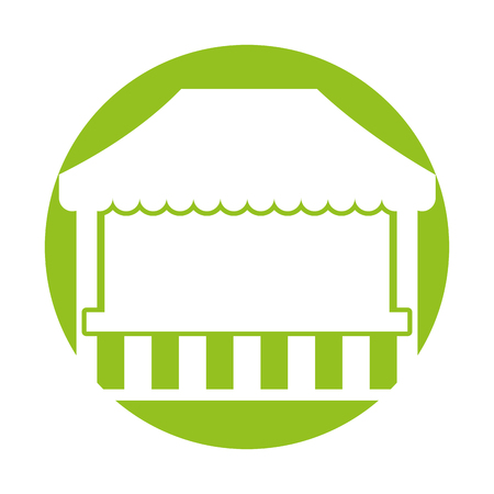 ticket shop carnival icon vector illustration design