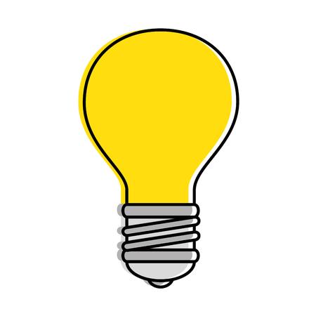 Illustration pour Bulb light isolated icon vector illustration design. - image libre de droit