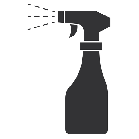 Illustration pour spray bottle isolated icon vector illustration design - image libre de droit