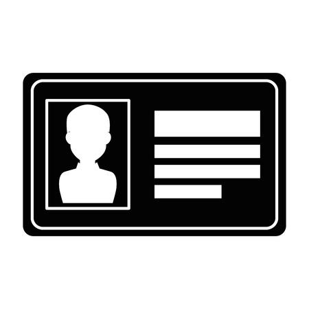Illustration pour safety card isolated icon vector illustration design - image libre de droit